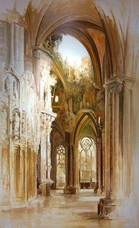 Estudio De Pintura Nacho: Cuadro de Josellorens.es de la catedral de Toledo increible