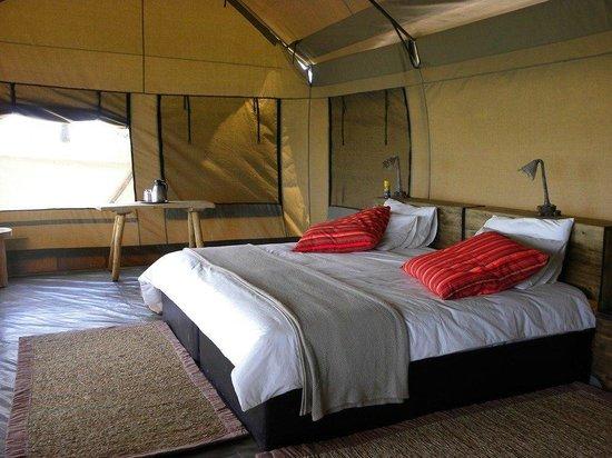 Pioneers Camp Zimbabwe tent interior