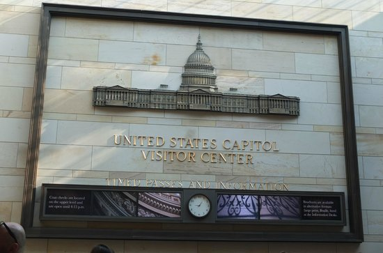 U.S. Capitol Visitor Center: At the entrance