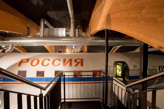 Runway 34: Die Hauptattraktion des Restaurants - die Illyushin