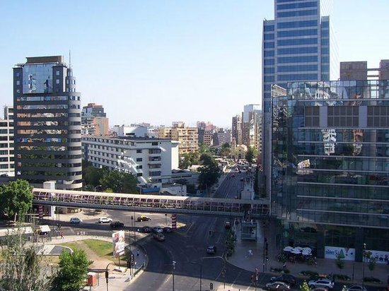NH Collection Plaza Santiago: View from rour oom at the Radisson Santiago