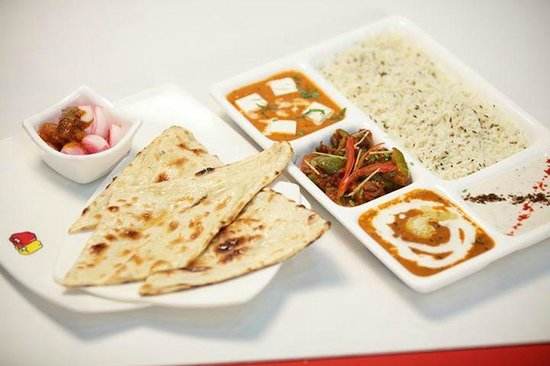 PEPPERS - The Food Court: Punjabi thali