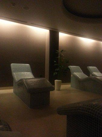Hotel Galleria: Tepidarium room at Wellness center