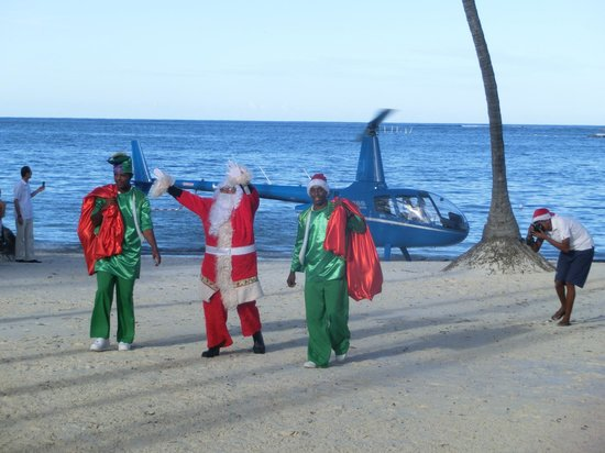Dreams Palm Beach Punta Cana: Der Weihnachtsman