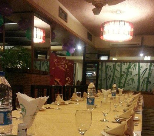 Bamboo Shoot: Inside the restaurant