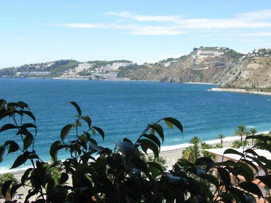 Almunecar Playa Spa Hotel: Seitl. Meerblick von der 8. Etage