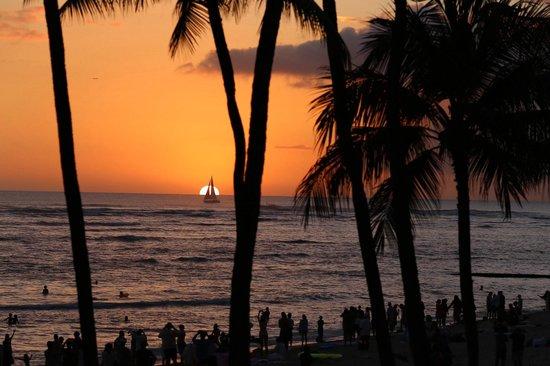 Hula Grill Waikiki: View from table