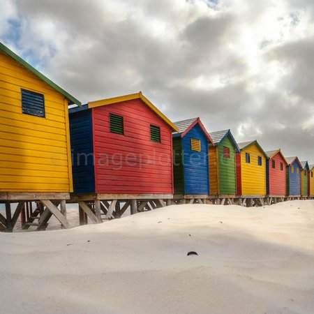 Photography Tours: Beach Huts, Muizenberg