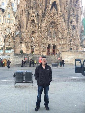 Basilica of the Sagrada Familia: Surreal!