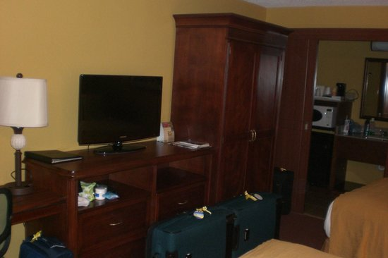 Rosen Inn at Pointe Orlando: Fittings to microwave
