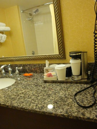 Radisson Hotel Seattle Airport: Bathroom amenities