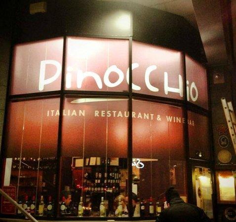Pinocchio Italian restaurant & Wine bar : WWW.PINOCCHIO.IE