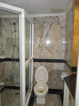 Grand Diamond City Hotel & Casino: Nice shower