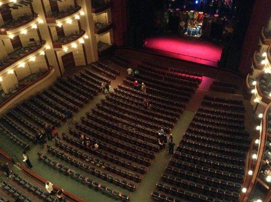 Florida Grand Opera: Зал (фотографировтаь нельзя))