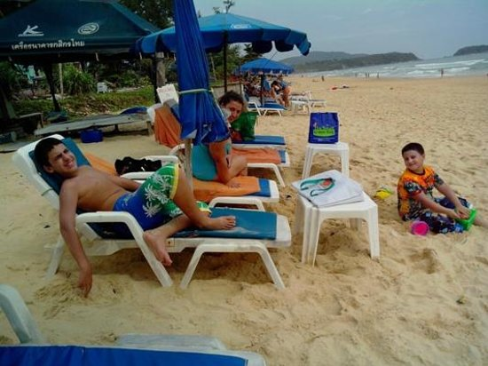 Waterfront Suites Phuket by Centara: Chillin' on Karon Beach