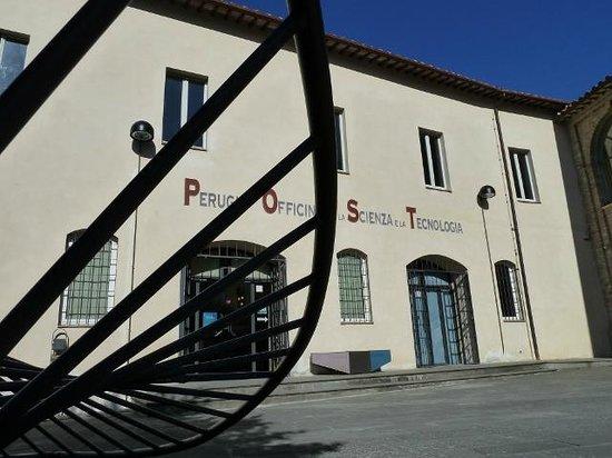 Museo Perugia Officina della Scienza e della Tecnologia (POST): L'esterno del Centro della Scienza POST