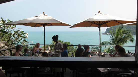 The Cliff Bar and Grill: The Cliff  Terrace & VIew