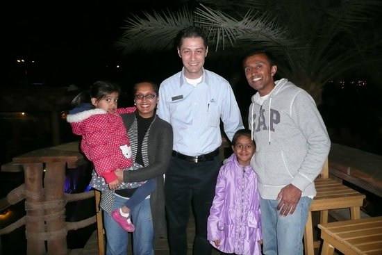 Hilton Sharm Dreams Resort : Ahmed Hassan and us