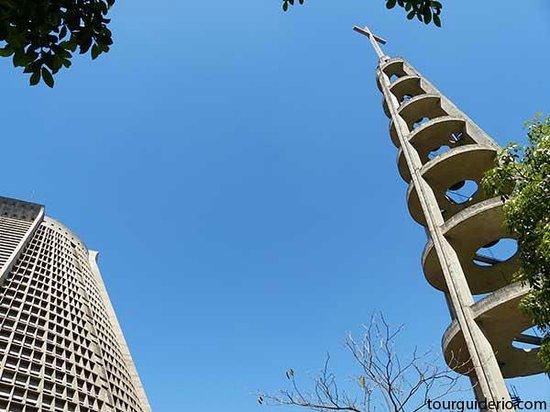 Madson Araujo, Rio De Janeiro Tour: Bell tower and detail of Rio de Janeiro Cathedral