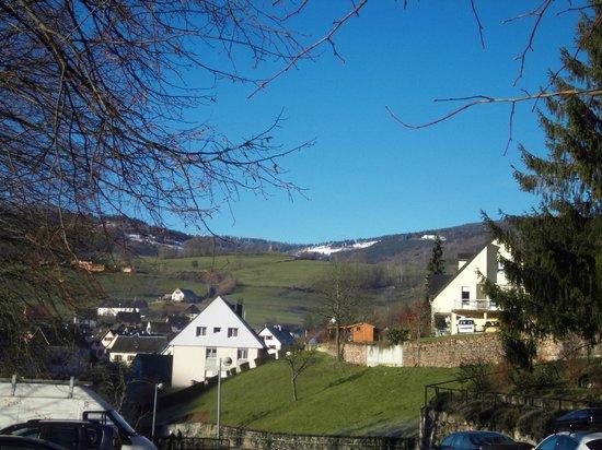 VVF Villages Orbey : Vue du village vacances
