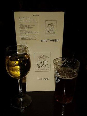 Cafe Royal: New Year's Eve drinks