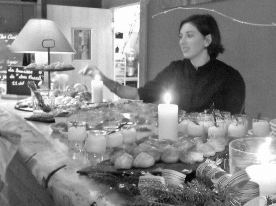 Hotel Plein Ciel : buffet de nouvel an