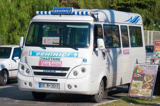 Batihan Beach Resort & Spa: Local Bus From Hotel To Kusadasi