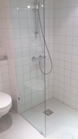 Hotel Opus Horsens : shower