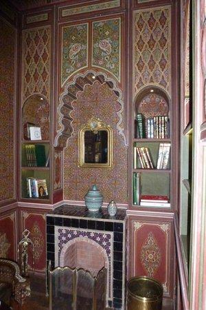 Palais Faraj Suites & Spa : Salon de lecture