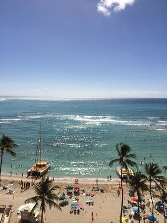 Outrigger Waikiki Beach Resort: View from the room918