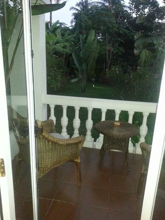 The Luang Say Residence : Our balcony
