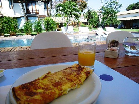 Serena Hotel Boutique Buzios : Omelete no café da manhã!
