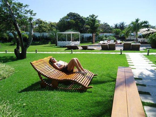 Serena Hotel Boutique Buzios : Jardim...