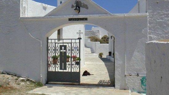 Panagia Chrissopigi: What church
