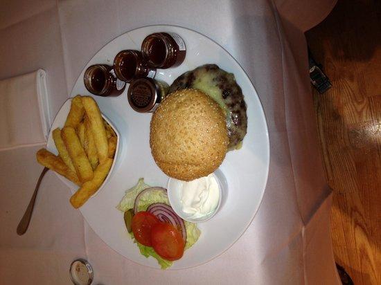 Andaz London Liverpool Street: Room service! It was lush!