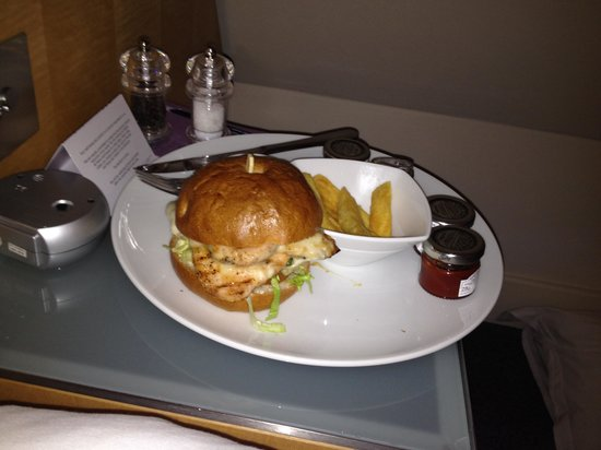 Andaz London Liverpool Street: Late night room service!