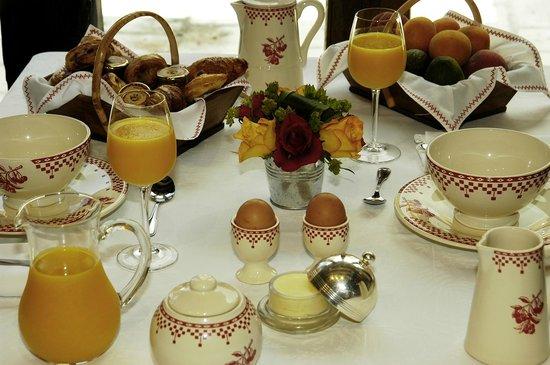 La Chaumiere Hotel-Restaurant : petit déjeuner