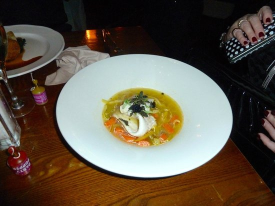 Gusto Liverpool: The Fish Main Course which had to be returned