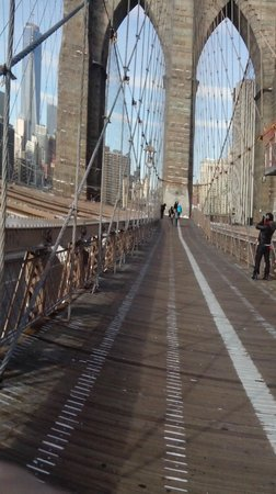 Puente de Brooklyn: Brooklyn bridge New York