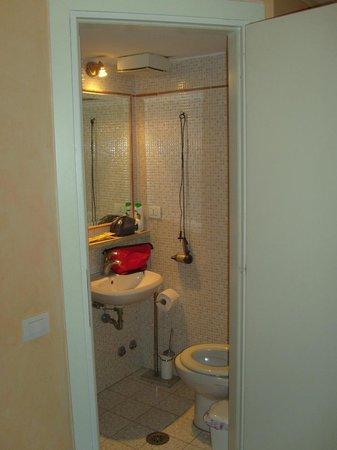 Soraya Guest House Colosseum: questa è la foto del bagno in camera ... comodissimo!