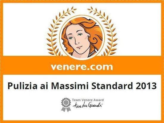 Hotel Villa San Michele: Premio Pulizia Venere