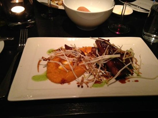 Thijs by Dikker &Thijs: Main was duck with sweet potatoes