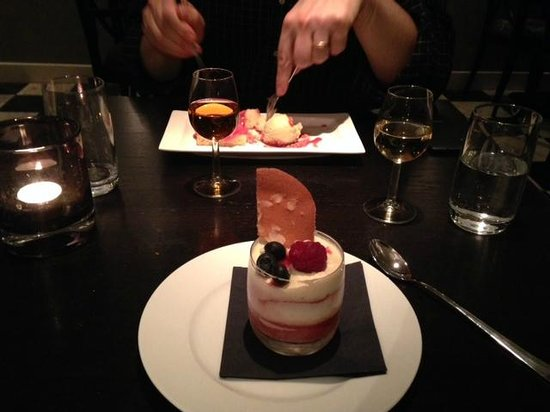 Thijs by Dikker &Thijs: Dessert was Champagne Trifle