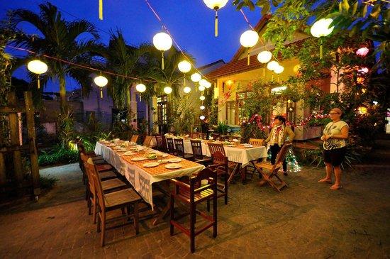 The Hoi An Orchid Garden Villas : NYE Complimentary Dinner