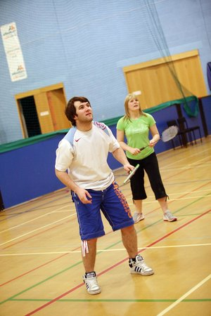 Willowburn Sports and Leisure Centre: Badminton