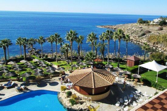 Atlantica Golden Beach Hotel : View from the top floor