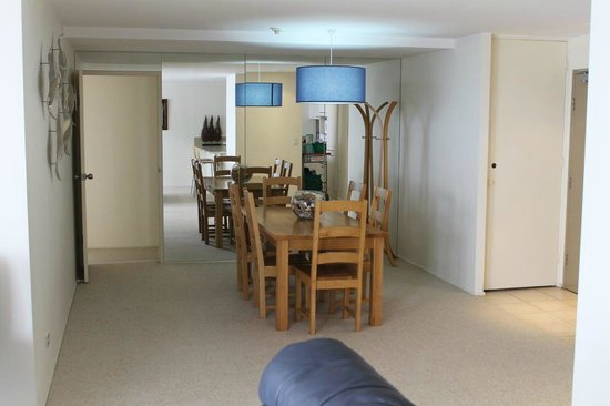 Pacific Towers Beach Resort: Apt 1602 - Dinning area viewed from living room couch