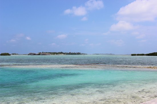 Cinnamon Dhonveli Maldives: View from our room.