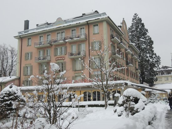 Hotel Interlaken: Beautiful surroundings