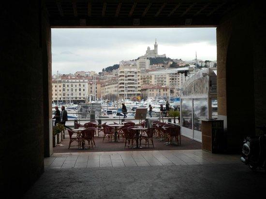 Alter Hafen (Vieux Port): vista sul porto vecchio